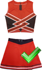 Probe Cheerleading Uniform